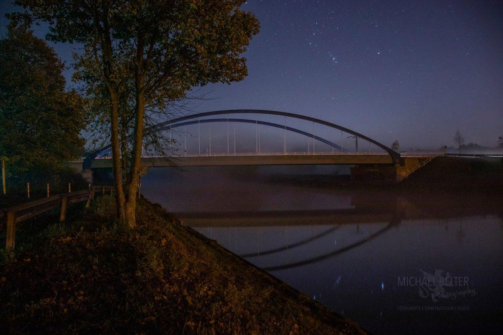 Brücke bei Hünxer Schleuse © Michael Belter Photography