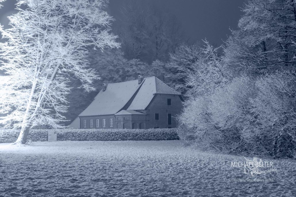 Schloss Gartrop im Winter © Michael Belter Photography